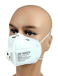 3m-9002v polvo PM2.5 máscaras hombres andwomen anti-niebla y la bruma mascarillas con válvula de ventilación