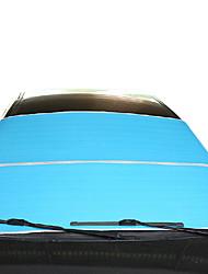 isolation soleil feuille bleue anti-uv voiture sunshade 95 * 200cm