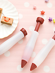 1pcs Pastry Icing Cream Chocolate Cake pen dessert Decorating Syringe Silicone Plate Paint Pen Cake Cookie Kitchen tools
