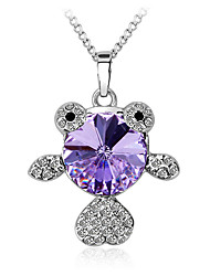 Women's Pendant Necklaces Pendants Crystal Crystal Austria Crystal Fashion European Jewelry For Daily Casual 1pc