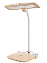 Rechargeable LED Lamp, Bedroom Bedside Desk for Students Learning Nightlight Eye Care