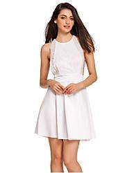 Women's  Lace Open Sides Babydoll Dress