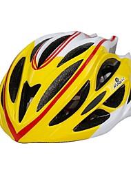 Capacete(Amarelo / Vermelho / Preto / Azul,EPS / PVC) -Montanha / Estrada / Esportes-Mulheres / Homens / Unisexo 27 AberturasCiclismo /