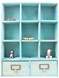 Lose Money! The Coffee Table Remote Control Box Remote Control Box Creative Solid Wood Remote Control Desk (Small)