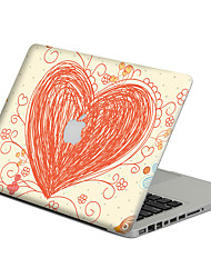 1 pc Scratch Proof PVC Body Sticker Heart Pattern For MacBook Pro 15'' with Retina / MacBook Pro 15'' / MacBook Pro 13'' with Retina / MacBook