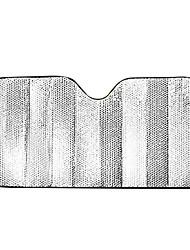 isolation du soleil en aluminium anti-uv voiture sunshade 140 * 70cm