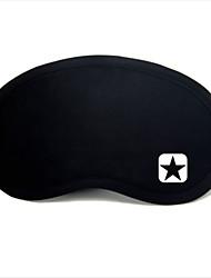 Reiseschlafaugenmaske Typ 0024 Stern mit fünf Punkten