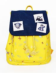 Bolsa Inspirado por One Piece Fantasias Anime Acessórios de Cosplay Bolsa / mochila Preto Náilon Masculino / Feminino