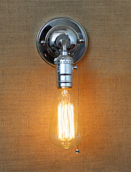 Retro American Country Style Wall Lights With a pull switch Restaurant Cafe Bars Bar Table Hallway Balcony Send 1 Bulb