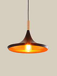 Max 60W Pendant Light ,  Vintage Painting Feature for Mini Style MetalLiving Room / Bedroom / Dining Room / Kitchen