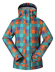 Gsou snow women ski jackets/ snowboard/double snowboard jackets/windproof waterproof ski-wear