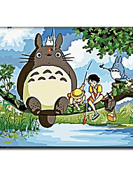 Hand Painted Oil Painting Wall Art New Arrival Unique Gift Japanese Cartoon with Stretched Frame Ready to Hang