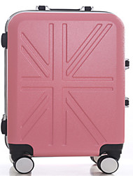 Unisex PVC Outdoor Luggage Pink / Blue