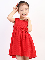 Baby Going out Solid Dress,Others Summer Multi-color