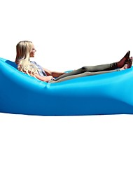 Inflatable Outdoor Air Sleep Sofa Couch Portable Furniture Sleeping Hangout Lounger External Internal PVC Camping Beach