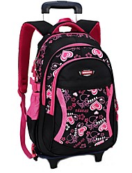 Women Nylon Formal Backpack Pink / Black