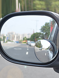 360 Degrees Small Round Mirror After the Adjustable Large Auxiliary Vehicle Bump Blind Spot Mirror Wide-Angle Lens