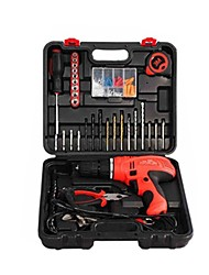 Drill Multifunction Hand Drill Electric Screwdriver Torque Screwdriver Tool Kit(Sale: Generation + Versatile Package)