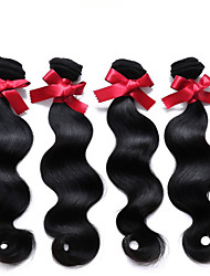 Peruvian Body Wave Virgin Hair 50g Half Bundle Natural Color Human Hair Bundles Soft 7A Peruvian Virgin Hair Body Wave