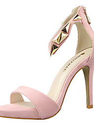 Women's Shoes / Peep Toe Sandals Party & Evening Stiletto HeelRhinestone / Crystal / Feather /