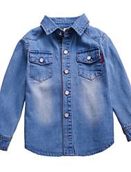 Boy's Cotton Spring/Fall Fashion Cowboy Shirt