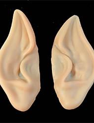 PVC-Fee Elf gefälschte elf Ohren Halloween-Schablone neue Partei scary Halloween-Dekoration weich wies prothetischen Ohren Maske
