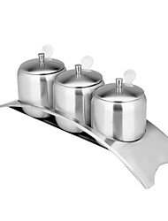 304 Stainless Steel Spice Jar - Bridge Section