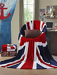 "The British Flag UK Super Soft Flannel Blanket  W59""×L79"""