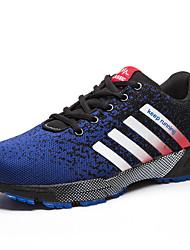 Беговая обувь Черный / Синий Обувь Мужской Тюль