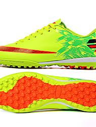 ailema Homens Futebol Tênis Primavera / Verão Almofadado / Anti-desgaste / Respirável Sapatos Amarelo / Verde / Vermelho / Azul 33-44