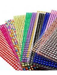 в стикеры автомобиля декоративные многоцветной дополнительно 4мм 1000 частиц