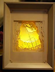 nous branchons papier créatif conduit sculpture 3d décoration lumière de nuit de Noël de la mer