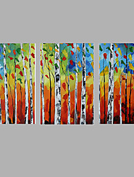 3 Sets Group Painting Abstract Morder Wall Art Hanging Acrylic Painting
