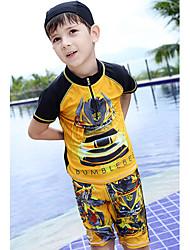 Bañador Boy-Verano-Poliéster-Retazos