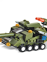 Building Blocks For Gift  Building Blocks Model & Building Toy Tank Plastic Above 6 Green Toys