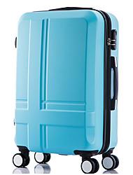 Unisex Plastic Outdoor Luggage Pink / Purple / Blue
