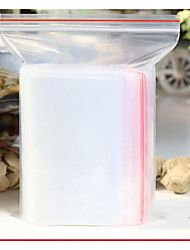 Closure Pocket Transparent Bags Sealed Bags Thicker PE Plastic Bags