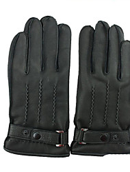 L Code Deerskin Leather Gloves Comfortable To Wear Durable Wear Gloves