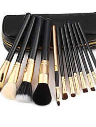 12 Zipper Bag Make Up Brush Makeup Brush Set-Random Delivery