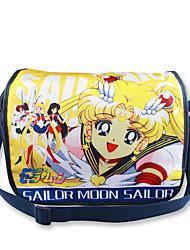Bolsa Inspirado por Sailor Moon Fantasias Anime Acessórios de Cosplay Bolsa / mochila Preto Náilon Masculino / Feminino