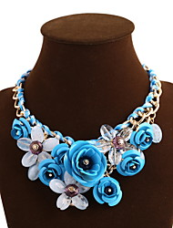 Necklace Statement Necklaces Jewelry Daily / Casual Fashionable Alloy Gold 1set Gift