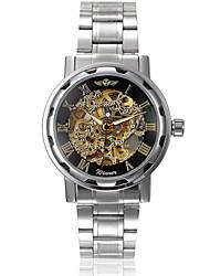 WINNER® Men's Auto-Mechanical Luxury Steel Skeleton Wrist Watch  9 Cool Watch Unique Watch