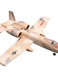 Dynam A-10 1:8 Brushless Electric 70KM/H RC Airplane 4ch 2.4G EPO Pink & Yellow RTF