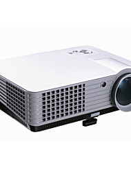 Rd801 LCD WVGA (800x480) Projecteur,LED 2000 Lumens Mini Portable HD Projecteur