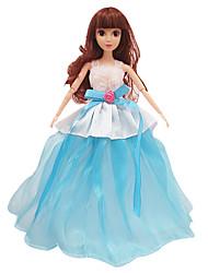 azul vestido de novia vestido vestido de gama alta de gama alta de 11,5 pulgadas (sin el bebé)