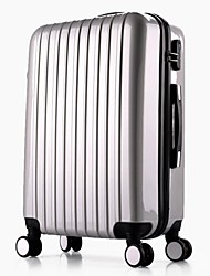 Unisex Metal Outdoor Luggage White / Pink / Purple / Red / Silver / Fuchsia