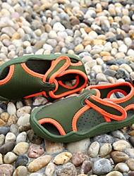 Sandálias(Azul / Verde / Rosa / Cinza / Verde Escuro) - deMENINO-Rasos / Sandálias