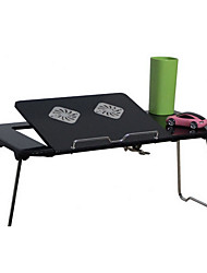 Computer Folding Desk With Fan Cooling Pad