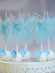 Blue Ballet Girle Pops (Set of 10)