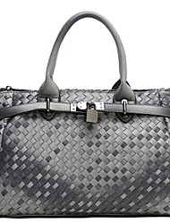 KAILIGULA Retro fashion handbags handbags woven platinum